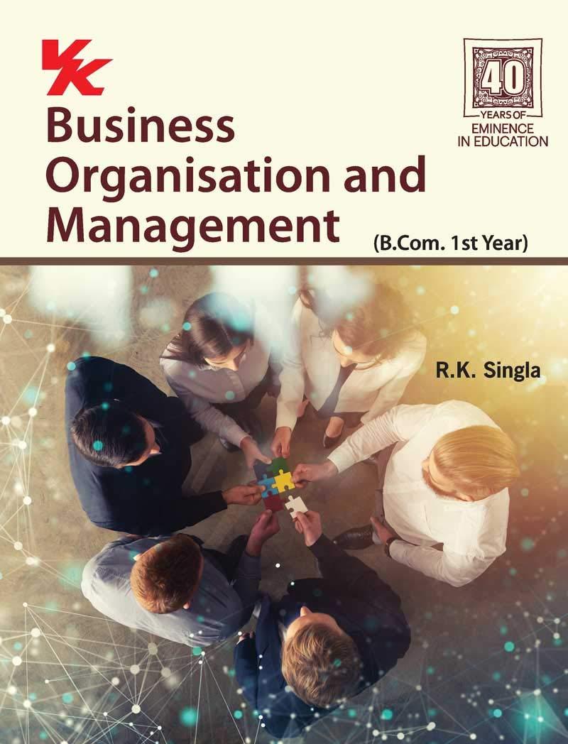 Business Organisation and Management B.Com 1st Year HP University (2020-21) Examination