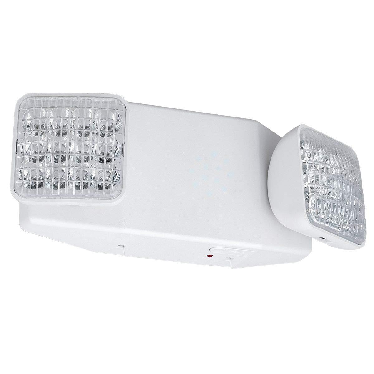 LED Emergency Light with 8 Ultra Bright LEDsper Head