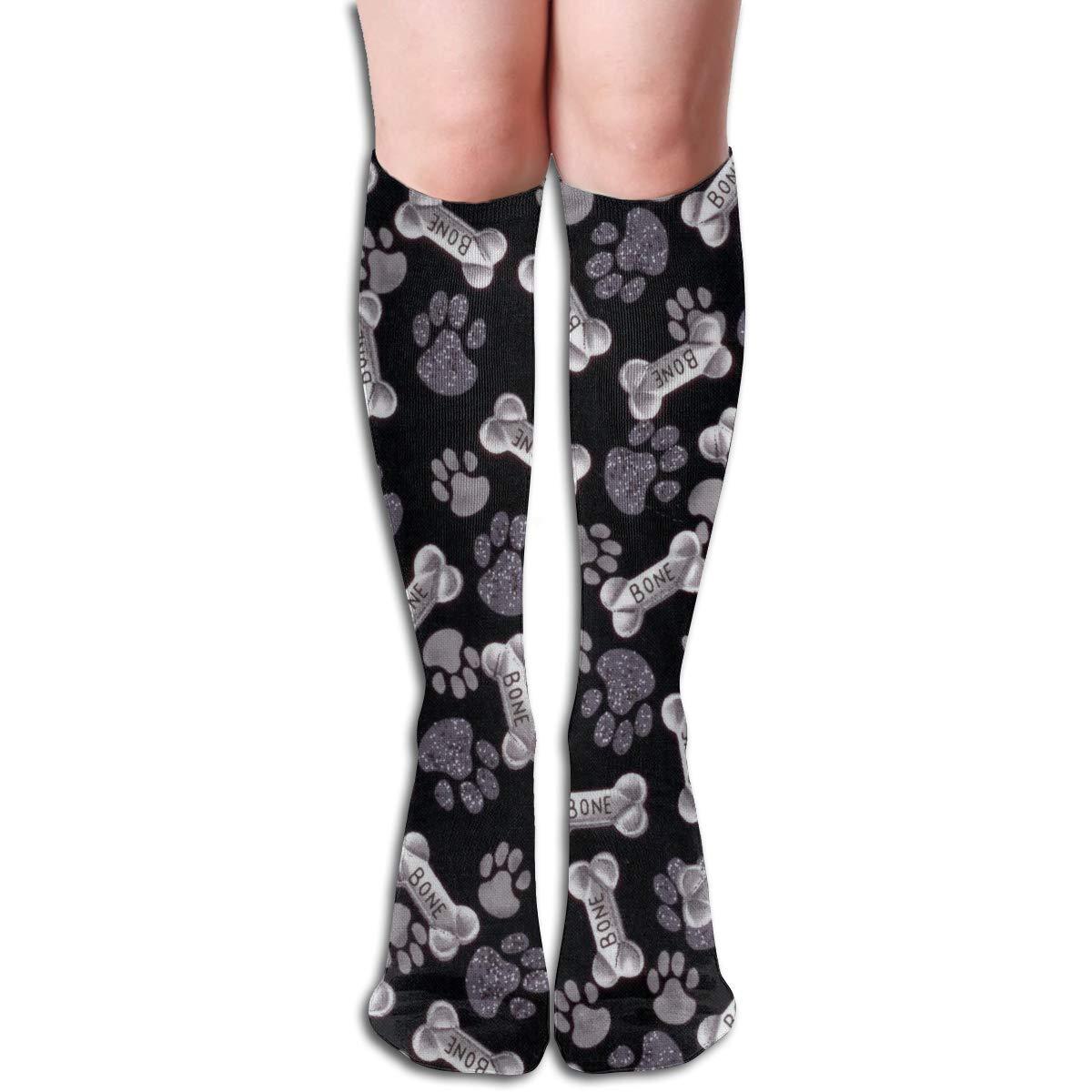 Girls Socks Mid-Calf Merry Christmas Beach Winter Inspiring For Halloween