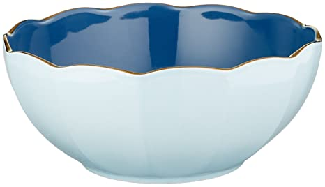3e67da33c0 Image Unavailable. Image not available for. Color: Marchesa Shades of Blue All  Purpose Bowl ...