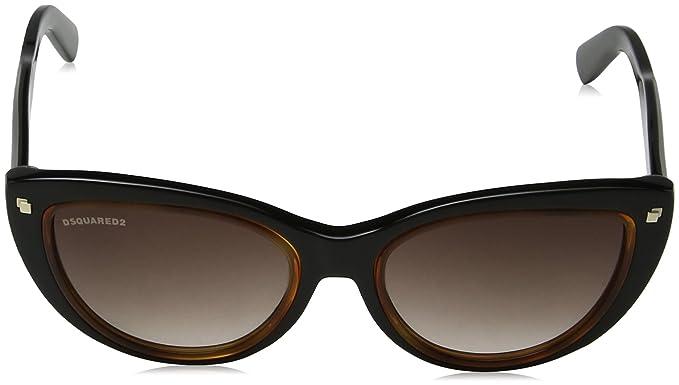 Dsquared2 Damen Sonnenbrille Eye, Braun (Marrone), 53
