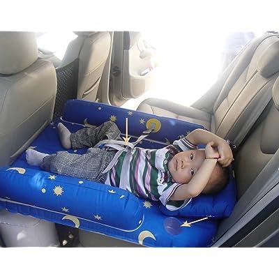 Lit Gonflable De Voiture Arrière Matelas Enfants Bébé Voiture Voyage Matelas De Couchage Fournitures Lit De Voiture Créative