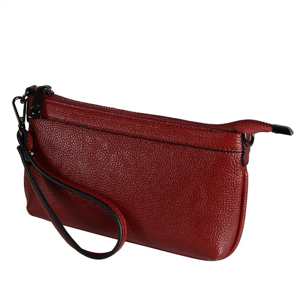 Diter Chic Leather Clutch...