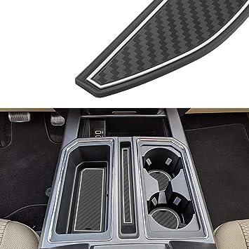 Fit For Ford F-150 F150 2015-19 Interior Armrest Storage Box Organizer Holder