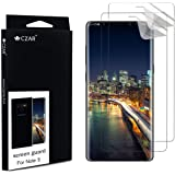 CZAR Samsung Galaxy Note 9 Screen Guard (Pack of 2), Edge to Edge Coverage, Watch Application Steps Video, Case Friendly, Screen Protector for Samsung Galaxy Note 9 - Transparent (Pack of 2)