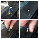 DRILLPRO 6pcs Drill Taps Set Combination Drill