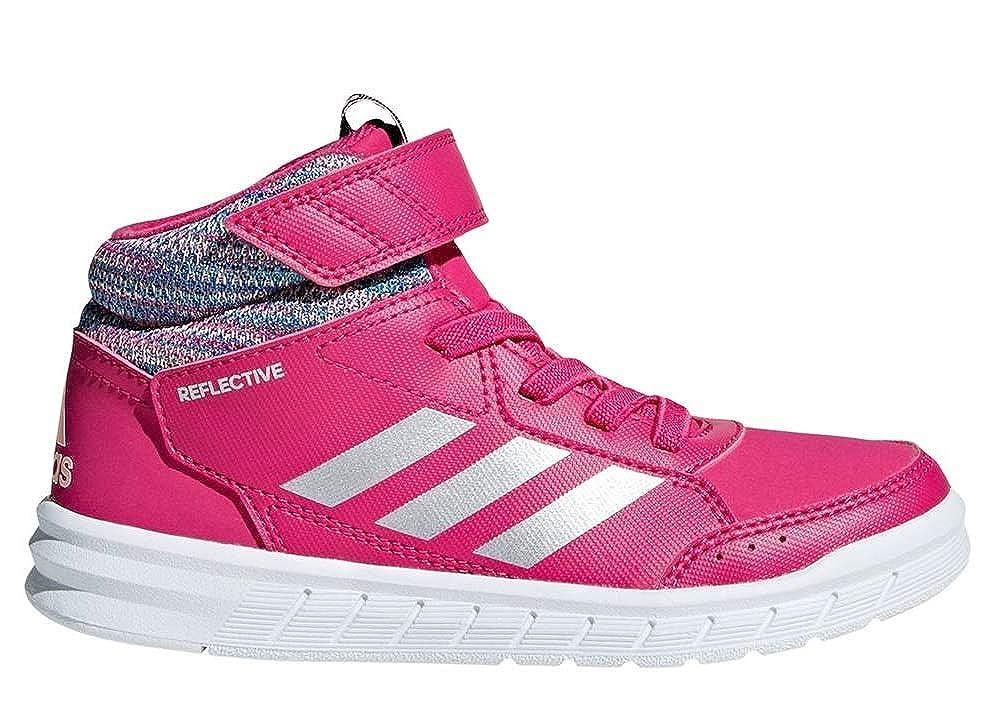 new concept a3075 45b05 adidas Unisex Kids AltaSport Mid BTW K Fitness Shoes, Grey  (GricinRefsilMagrea 0), 10.5 UK