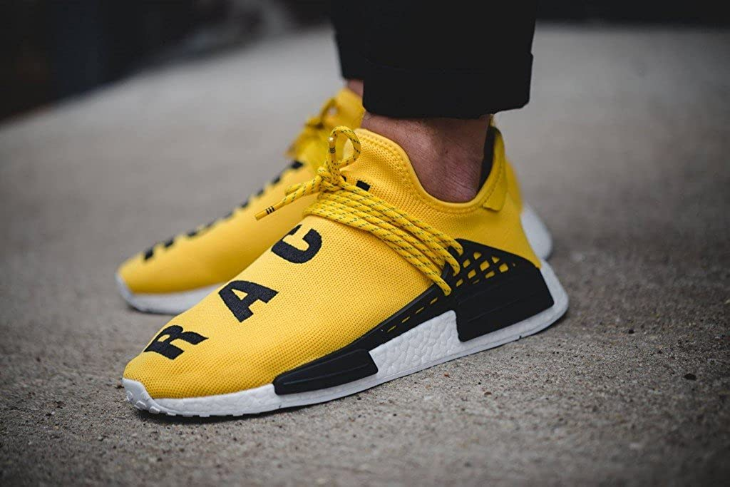 d2416be9af0ab Adidas x Pharrell NMD - Human Race - Yellow - Size UK 8 - Brand New   Amazon.co.uk  Shoes   Bags