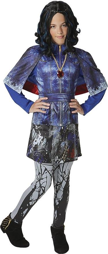Rubies 620373 - Los Descendientes - Disfraz de Evie Deluxe para niña, 5-6 años