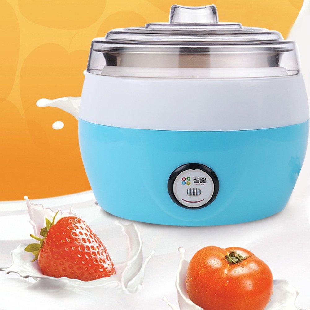 1L Automatic Electronic Stainless Steel Tank Yogurt Maker Rice Wine Maker Home Yogurt Making Machine
