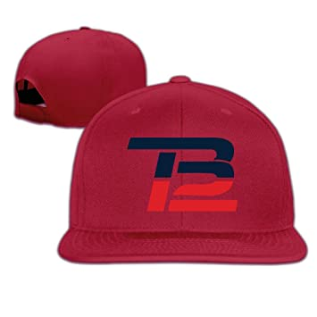 Hittings Unisex Brady Comeback TB12 Flat Baseball Cap Adjustable Snapback  Red  Amazon.co.uk  Sports   Outdoors 631d2b37897a