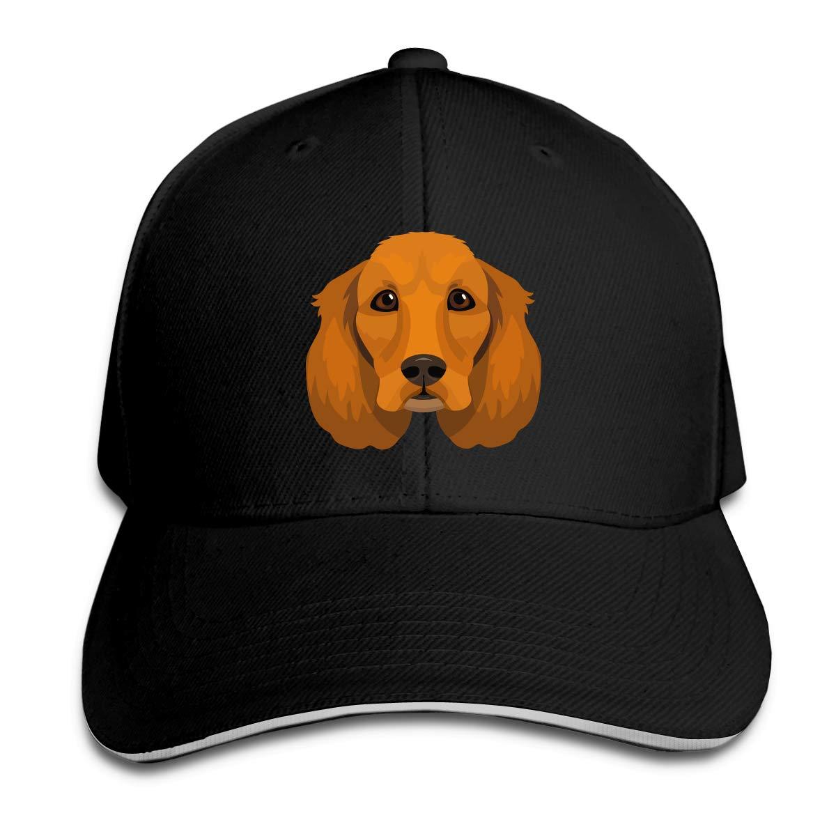 WFIRE Adult Baseball Caps Spaniel Custom Adjustable Sandwich Cap Casquette Hats