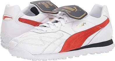d909beb3c5bf PUMA Men s King Avanti (Legends Pack) Puma White Puma Red 4.5 ...