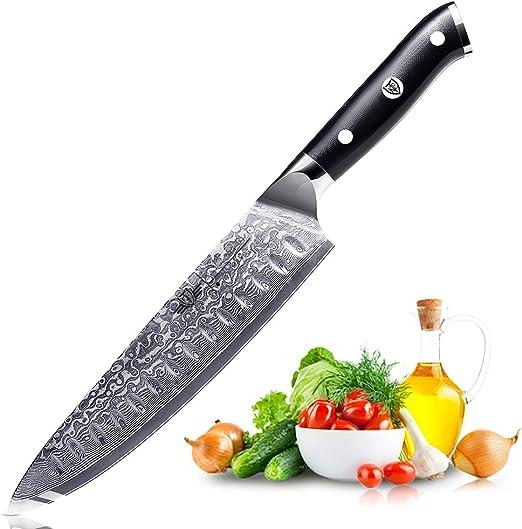 Compra Kitchen Emperor Cuchillo de Cocina, Cuchillos Damasco ...