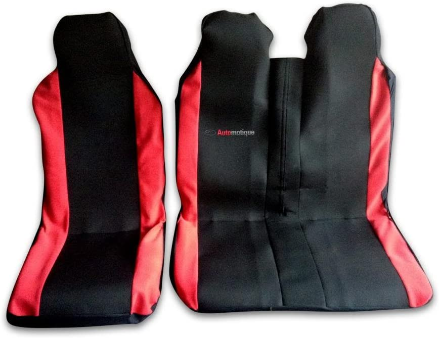 Quality Leather Look Van SEAT Covers Automotique Crafter 06-ON