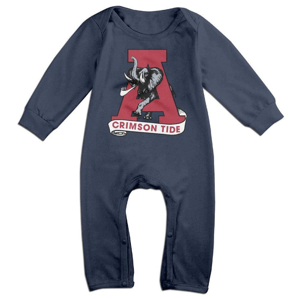 OOKOO Babys University of Alabama Crimson Tide Bodysuits Outfits Navy