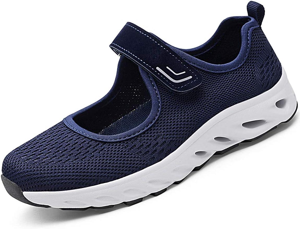 Zapatillas para Mujer Deportivo Sandalias Merceditas Ligero Mary Jane Deportes para Caminar Yoga Mocasines Verano Correr Calzado: Amazon.es: Zapatos y complementos
