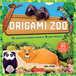 Amazon.com: Origami Zoo Kit: Make a Complete Zoo of Origami ...