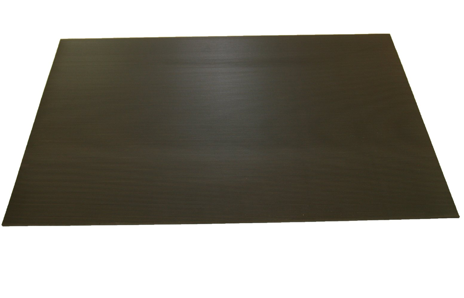 Rhino Mats DP-2436D Diamond Plate Pattern Dual Purpose Dielectric Anti-Fatigue Mat, 2' Width x 3' Length x 5/8'' Thickness, ASTM Type II Class 2, Black