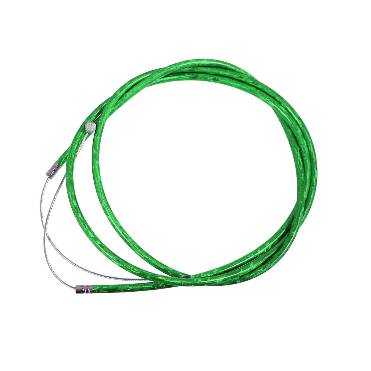 150cm Yellow Throttle Clutch Cable Line Fit 49cc 60cc 66cc 80cc Motorized Bike