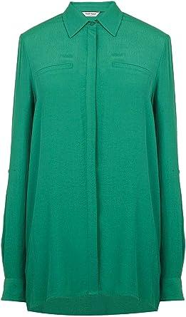 Naf Naf Camisa Basica Verde Mujer 42 Verde: Amazon.es: Ropa