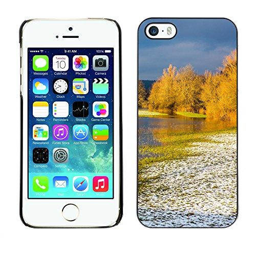 Premio Sottile Slim Cassa Custodia Case Cover Shell // F00012862 côte // Apple iPhone 5 5S 5G