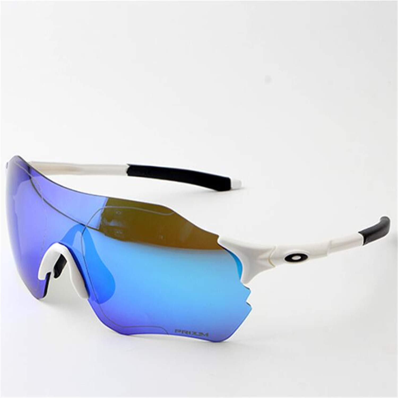 A Cycling Glasses, Sports Glasses, Polarized Glasses, TR Frameless Sunglasses, 3 Interchangeable Lenses Set