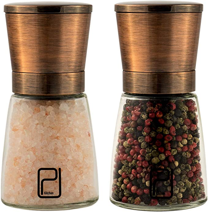Pfeffermühle und Salzstreuer Gewürzmühlen Pepper Salz Küchenhelfer KH-4678
