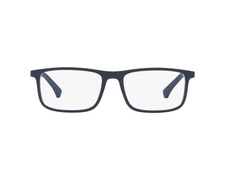 Emporio Armani frame (EA-3125 5474) Plastic Matt Blue - Silver