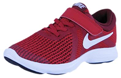 dbfbd742294b NIKE KIDS NIKE REVOLUTION 4 (PSV) GYM RED WHITE TEAM RED BLACK SIZE 12