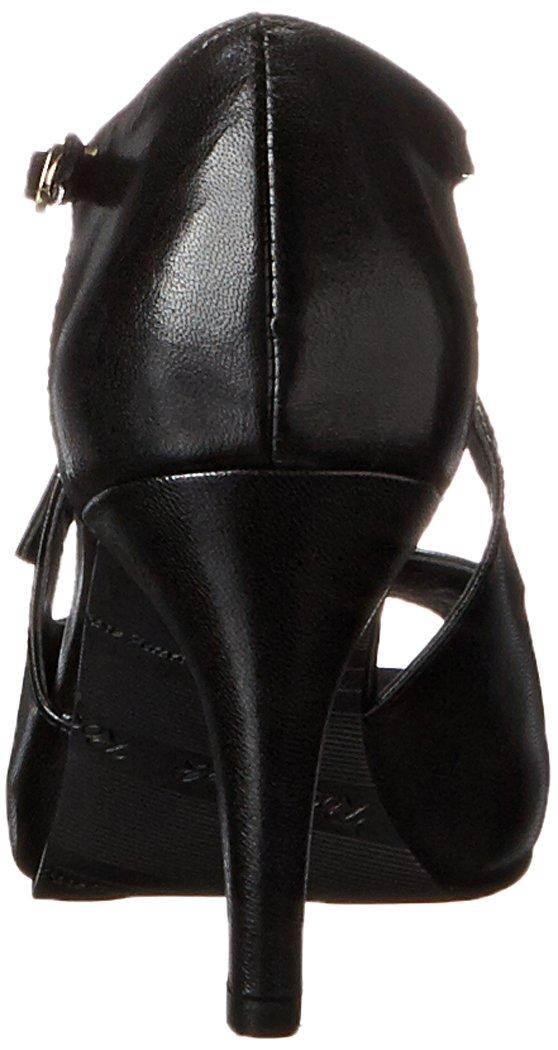 Rose Petals Women's Lissa Dress Pump B00EFWF1KI 10 W US|Black