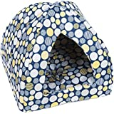 Favorite Pyramid Cat Bed, Easy Care Mini Animal Cando, Kitten Play House,Puppy/Dog Den