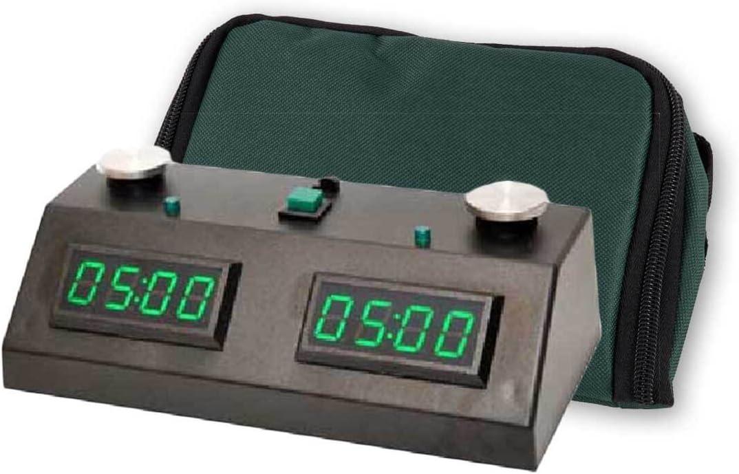 Neon Green Wedge Chess Clock Bag