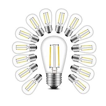 Equivalent 150lm 20w Ampoule Irc Brtlx S14 E27 Non 360° Faisceau Led Incandescente 80 15 Dimmabile Filament 2w 2700k À Chaud Lot Blanc De qSUVMpzG