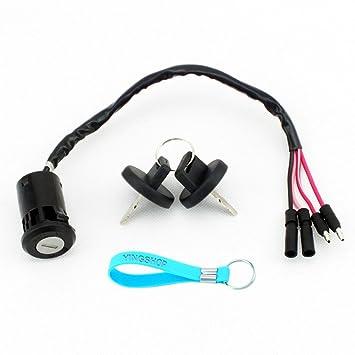Ignition Key Switch FITS HONDA 300 TRX300FW FOURTRAX 1990-2000 ATV NEW
