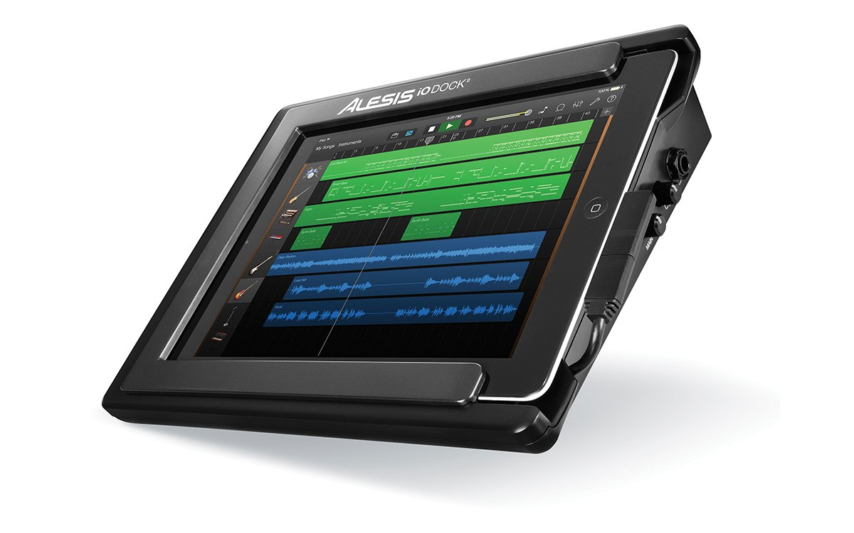 Alesis iO Dock II   Universal Pro Audio Interface for iPad with Lightning & 30-pin Connectors