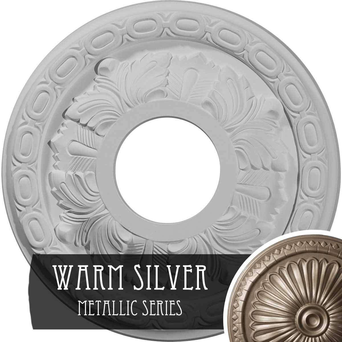 Ekena Millwork CM11LF Ceiling Medallion Primed