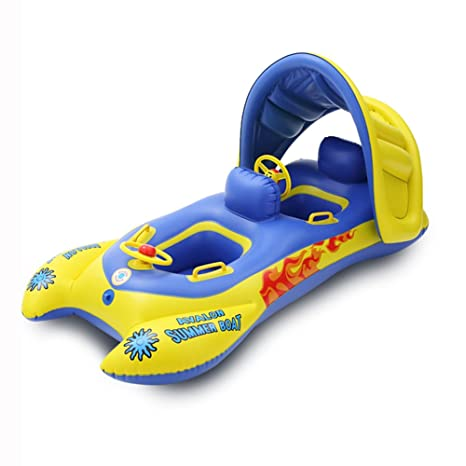 L&Zr Flotador para Nadar Anillo Doble para Nadar Inflable Juguetes para Flotar En La Piscina para