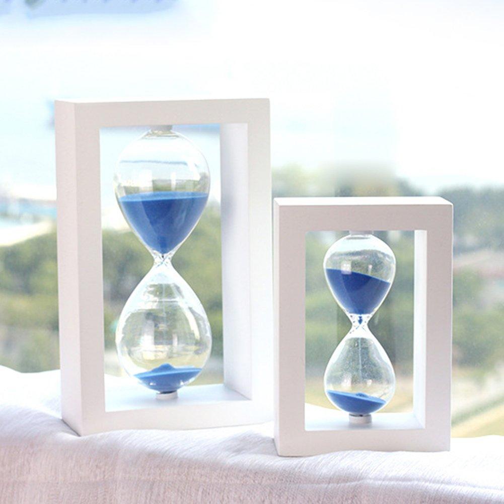 Zhi Jin Rahmen Holz 30 Minuten Sanduhr Sanduhr Sand Timer Uhr ...