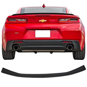 Amazon Com Trunk Spoiler Fits 2016 2019 Chevy Camaro Rs Style