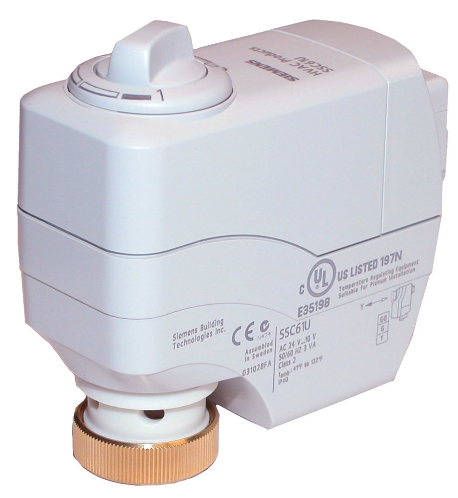 Siemens SSC61.5U Electronic Valve Actuator with Spring Return