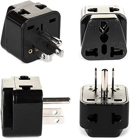 Universal AU US UK to EU Europe Plug AC 250V Power Travel Adapter Plug ILS