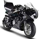 SAY YEAH Electric Pocket Bike 36V 500w Motor Dirt Pit Bike,Kids Mini Motorcycle,Battery WERCS Certificate Electric Scooter for Boys and Girls