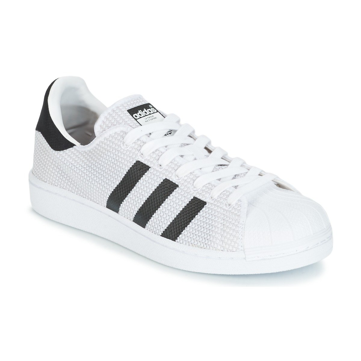 Adidas Originals Originals Originals Herren Superstar Turnschuhe Schuhe -Weiß schwarz e62301