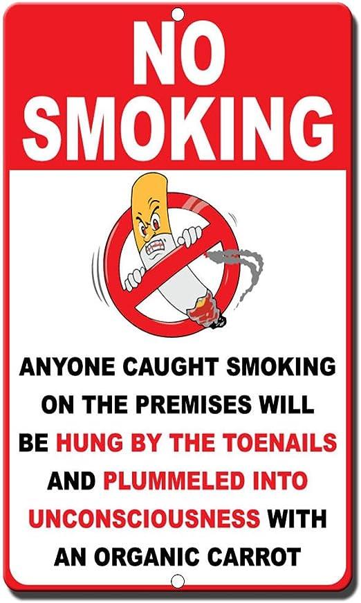 No Smoking//No fumarAdhésif Vinyle Signe Décalque La prudence//cuidado