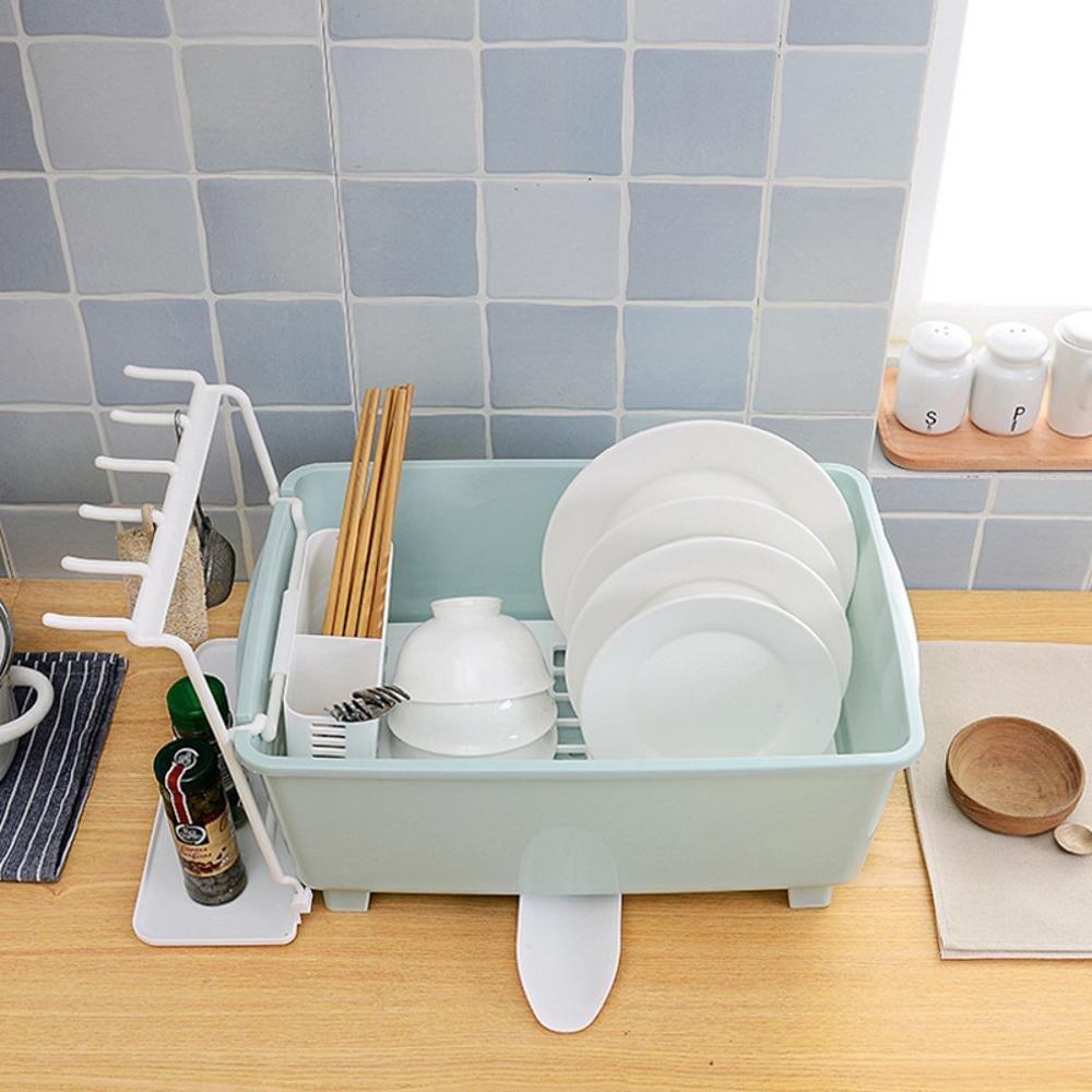 Kaxima Drain Küchengeschirrkorb, Aufbewahrungsbehälter, setzt den ...