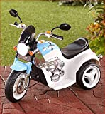 6 VOLT RIDE ON CHILD KID COP POLICE MOTORCYCLE TRICYCLE LIGHTS SOUND SIREN