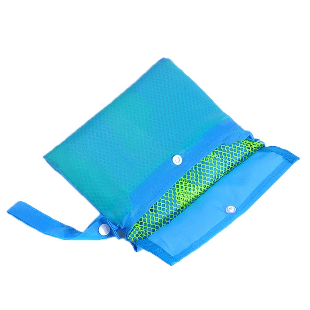 Large Mesh Beach Bag,Foldable Lightweight Beach Toys//Shell Storage Tote,Perfect for Holding Childrens Beach Toys