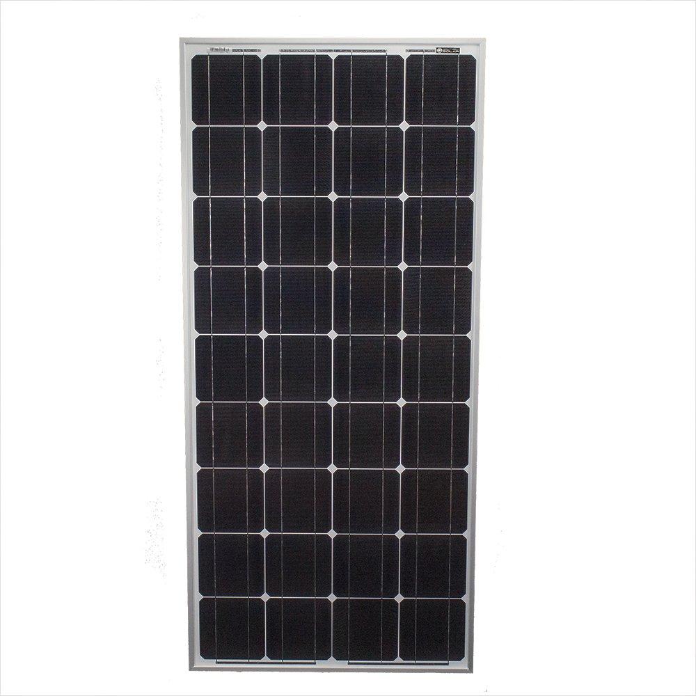 100 Watt Monocrystalline Solar Panel - Mighty Max Battery brand product