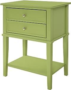 Ameriwood Home 5062696COM Franklin End Table, Green
